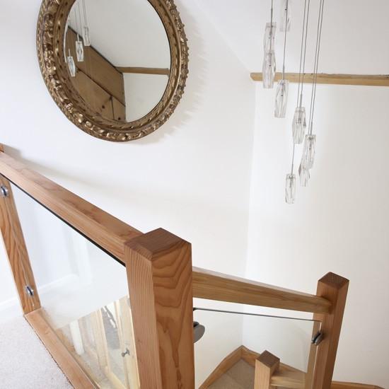 Chic white hallway | Hallway | 25 Beautiful Homes | Housetohome.co.uk
