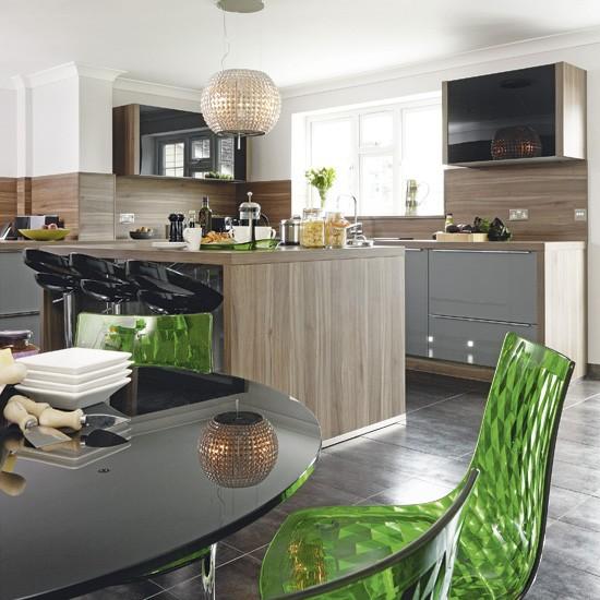 Hi-gloss laminate kitchen   Kitchen   Beautiful Kitchens   Housetohome.co.uk