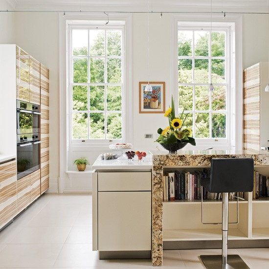 Light-filled timber kitchen | Kitchen | Beautiful Kitchens | Housetohome.co.uk