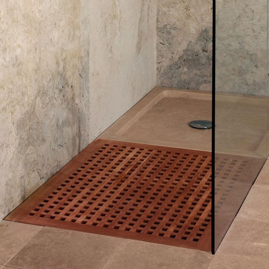 Teak shower tray from CP Hart | Modern shower trays - our pick of the best | Bathroom accessories | Livingetc | PHOTO GALLERY