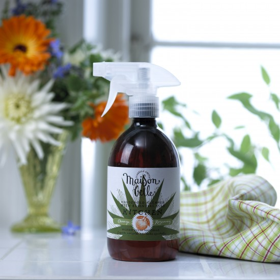 Orange and Rosemary cleaner from Maison Belle | Kim and Aggie-inspired cleaning products - our top 10 | Cleaning | Housetohome.co.uk