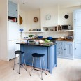 Check out this colourful kitchen