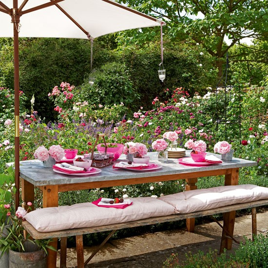 Make space for outdoor dining | garden | country | Country Homes & Interiors