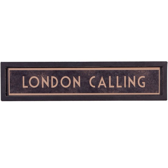 London Calling framed print from The Contemporary Home | London Olympics 2012 | Home accessories | PHOTO GALLERY | Housetohome.co.uk