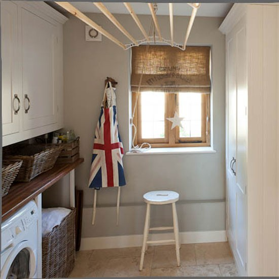 Utility room step inside this arts and crafts inspired for Utility rooms uk