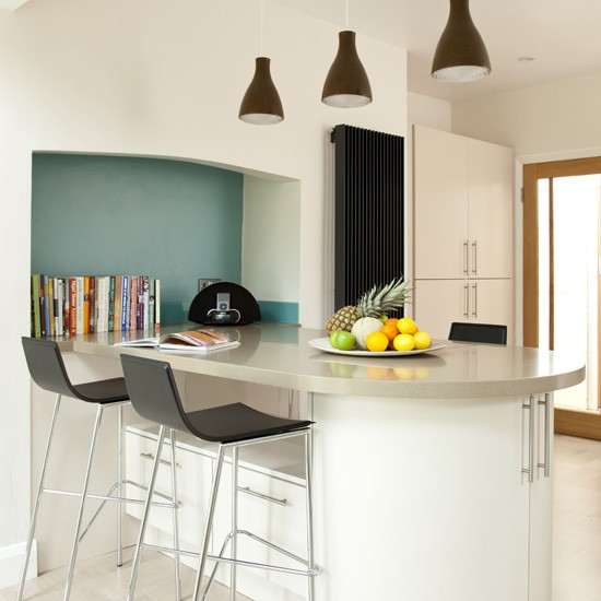Modern kitchen breakfast bar | Modern kitchens ...