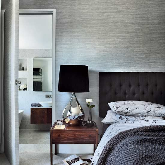 Master bedroom be inspired by a brilliantly modernised for Charcoal grey bedroom