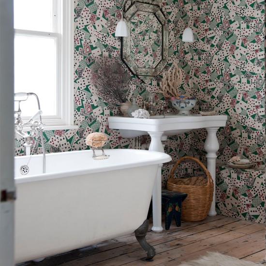 Quirky wallpaper | Classic British decorating ideas to celebrate the