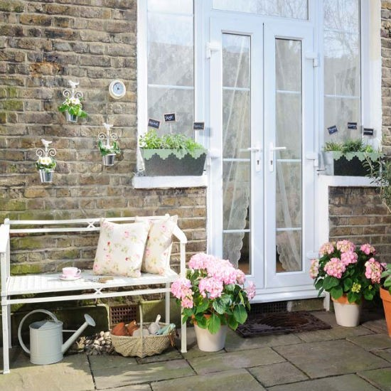 Brighten up a small patio | Patio | Garden | IDEAS GALLERY | Ideal Home | Housetohome