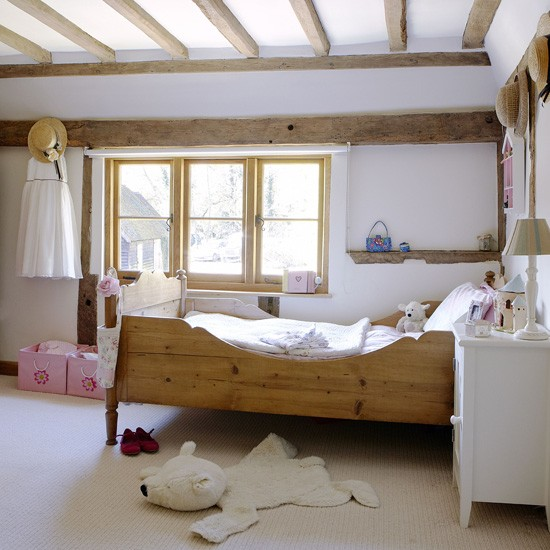 White country children's bedroom