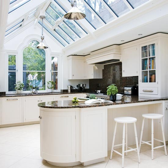 Gabled conservatory extension | Kitchen extensions | housetohome.co.uk