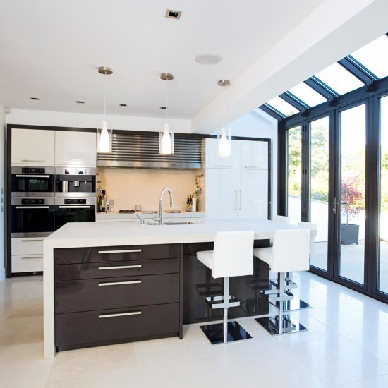 Single storey extension kitchen extensions housetohome for Kitchen diner extension ideas