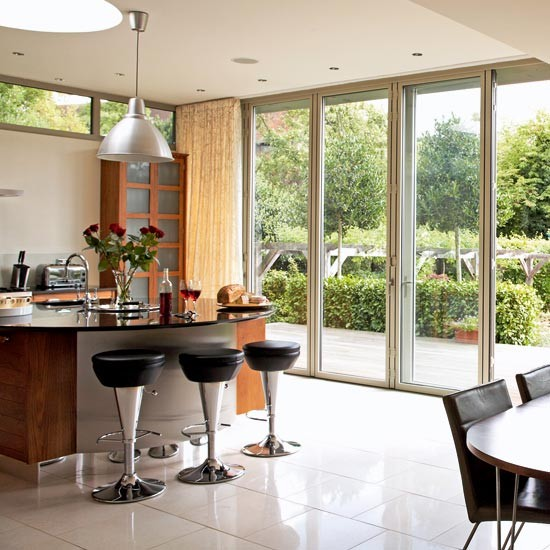 Bi-folding doors | Kitchen extensions - 25 of the best | Kitchen planning | Beautiful Kitchens | PHOTO GALLERY