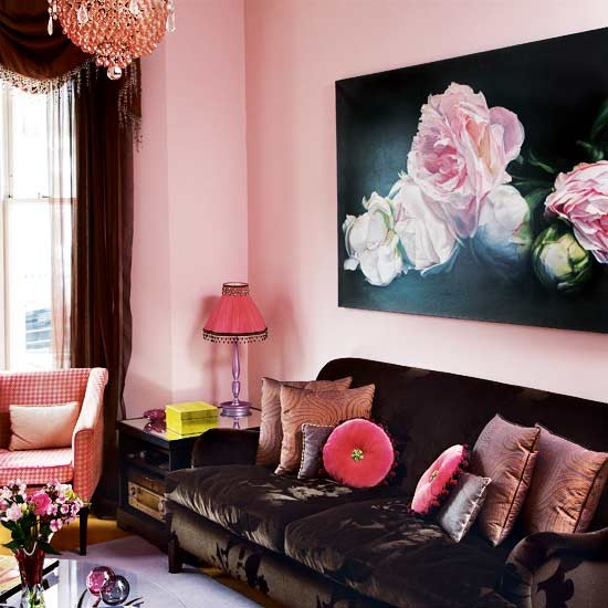 Sofa area | Take a tour around an art dealer's London home | House tour | Livingetc | PHOTO GALLERY