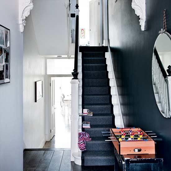 Hallway Take A Tour Around Three storey Victorian Semi House