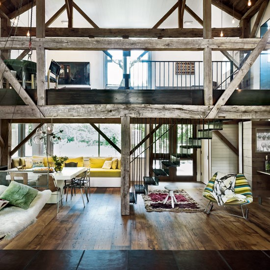 Open-plan barn conversion | Barn conversions - 10 of the best | Barn conversions | PHOTO GALLERY | Housetohome