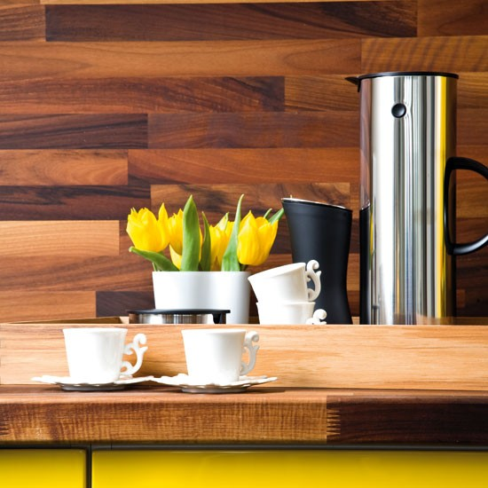 splashback take a tour around a bright yellow kitchen kitchen