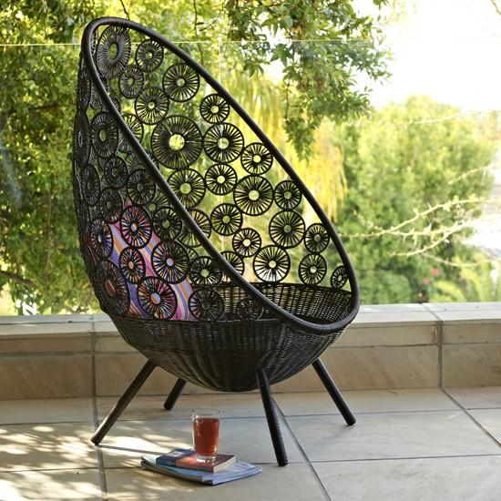 capri chair from next garden furniture. Black Bedroom Furniture Sets. Home Design Ideas
