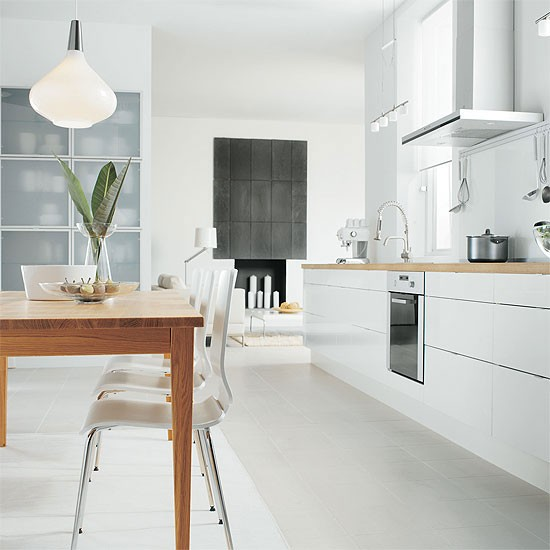 Abstrakt kitchen from Ikea | Handleless kitchen doors - 10 ideas | Kitchen planning | Beautiful Kitchens | PHOTO GALLERY