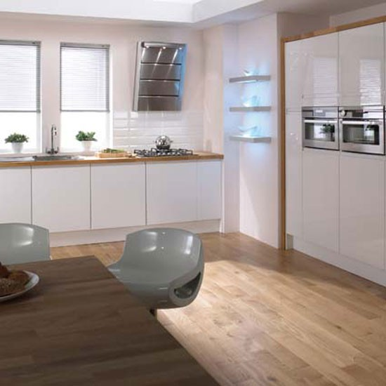 Stockholm kitchen from homebase kitchen cupboard doors for Home base kitchen units