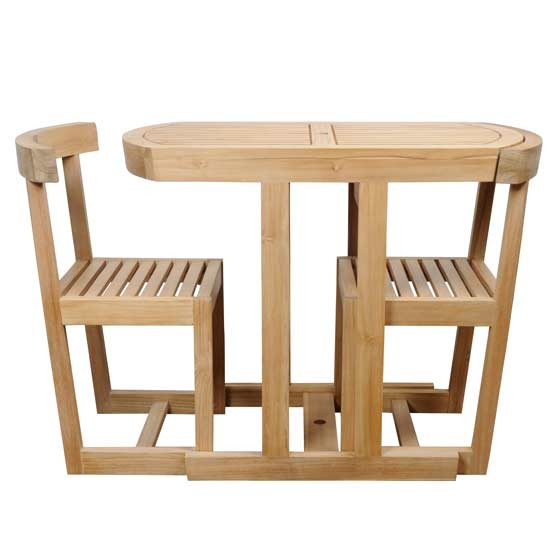 Plus 2 garden table and chair set from heal 39 s for Compact table and chairs set