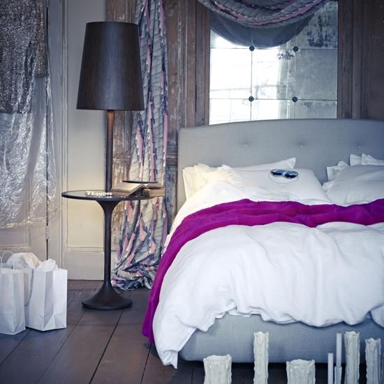 Romantic grey and white bedroom   Bedroom designs