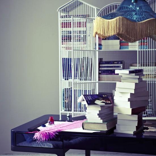 Romantic home office | Home office decoration | Desk | Livingetc | Housetohome