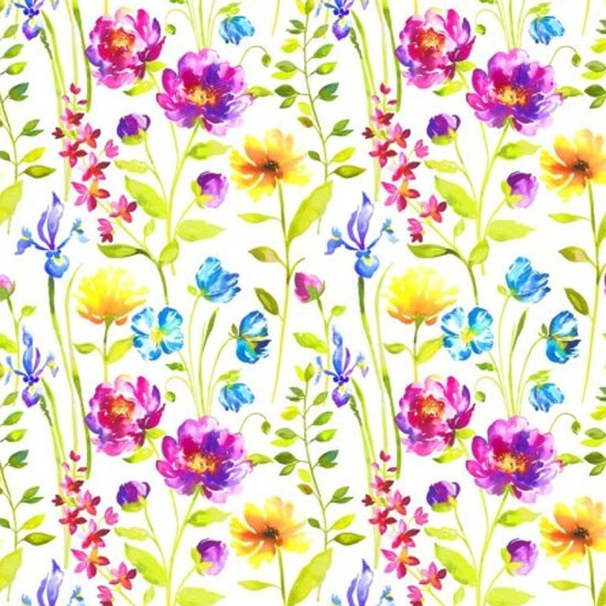 Timarete in Spring by Voyage | Floral fabric | Homes & Gardens | Housetohome | PHOTOGALLERY