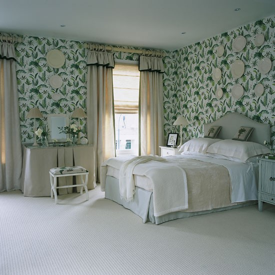 Go retro bedroom wallpaper ideas - Wallpaper ideas for bedroom ...