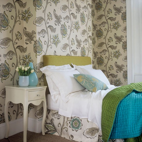 pattern bedroom wallpaper 10 decorating ideas
