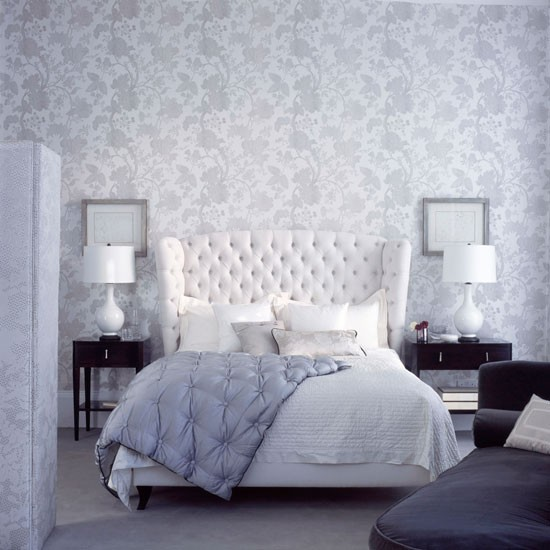 Create a delicate scheme bedroom wallpaper 10 for Bed wallpaper design