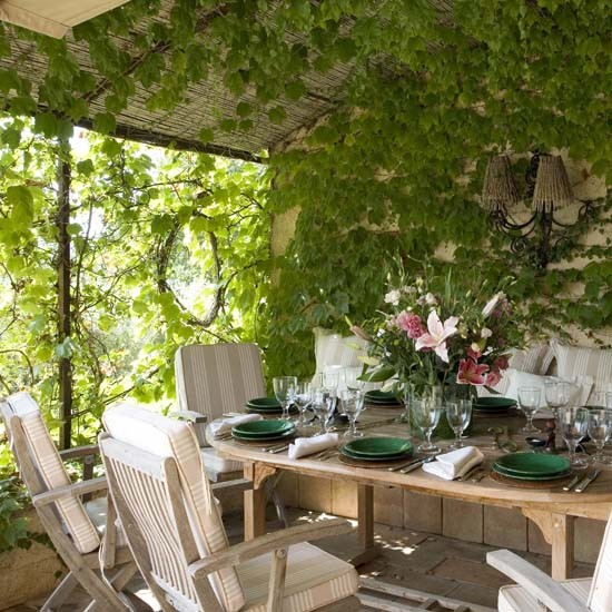Vine Covered Garden Room Garden Rooms