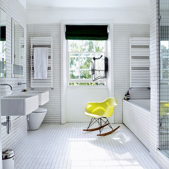 Bathroom | Be inspired by a sophisticated block colour home | House tour | Livingetc | PHOTO GALLERY