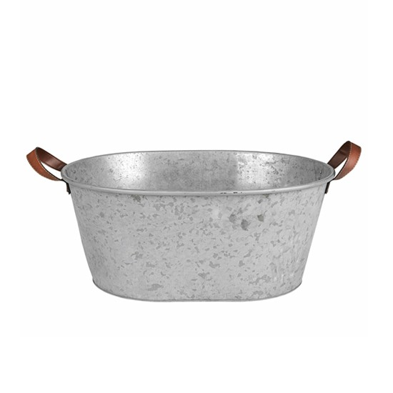 Oval Zinc Tub By Nordic House Garden Planters