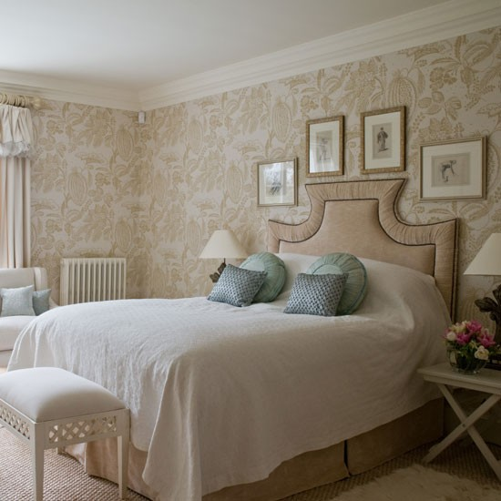 guest bedroom colourful country home house tour homes gardens
