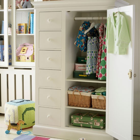 Organise clothes | children's bedroom | country | Country Homes & Interiors