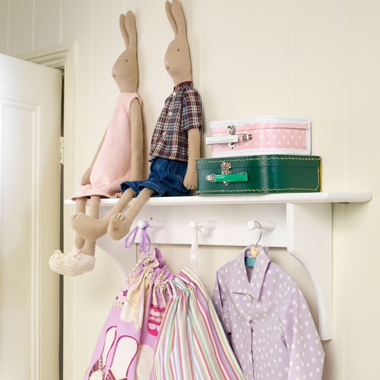 Create hanging space | children's bedroom | country | Country Homes & Interiors