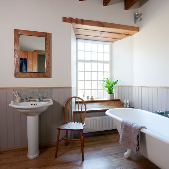 Traditional Suite With Country Features Bathroom Makeover PHOTO