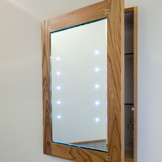 Recessed Mirror Cabinet Be Inspired By A Country Style