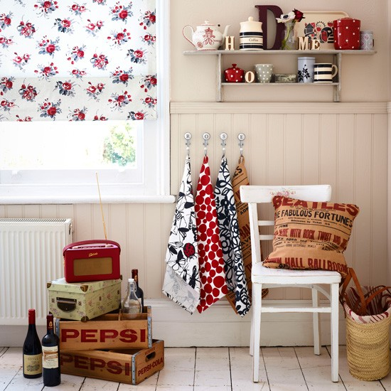 Bright vintage utility room | Utility room ideas | Country utility rooms | Housetohome