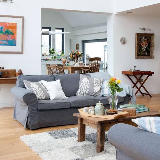 Living Room Eco Self Build Home