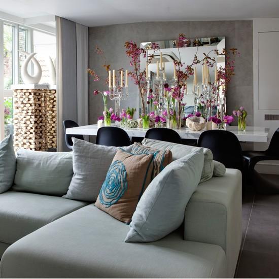 Bright Open Plan Living Room Living Room Designs