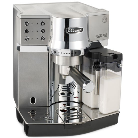 ec850 coffee machine from delonghi 10 of the best coffee. Black Bedroom Furniture Sets. Home Design Ideas