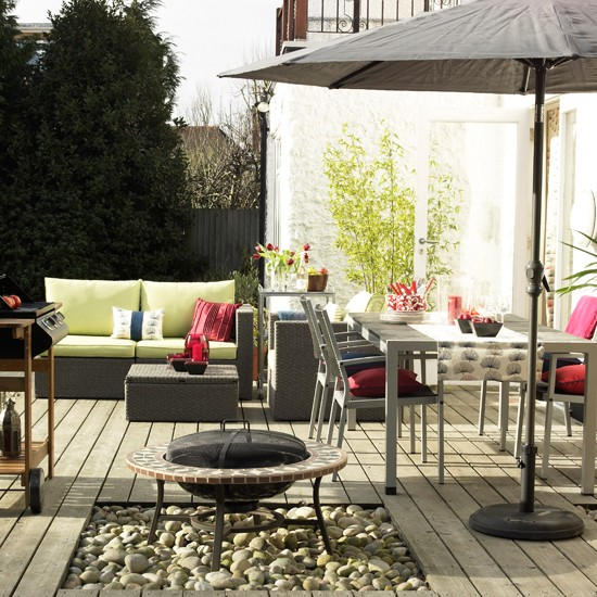 Outdoor living room-style garden | Gardens - top weird and wonderful | Livingetc | Housetohome.co.uk