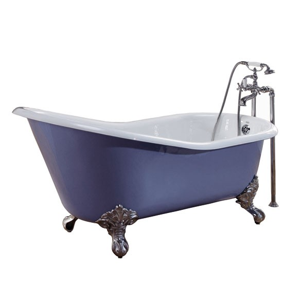 Cambridge slipper bath from CP Hart | bathroom | country | Country Homes & Interiors