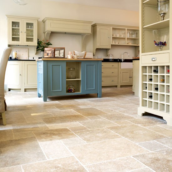 Pale kitchen flooring  Kitchen ideas  Beautiful Kitchens