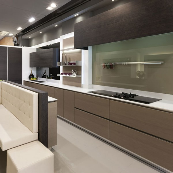 Contemporary Galley Kitchen Images: New Modern Kitchens At Neil Lerner