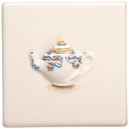 Original Style Teapot wall tile | Kitchen wall tiles - 10 motif designs | Kitchen ideas | Beautiful Kitchens | Housetohome | PHOTOGALLERY