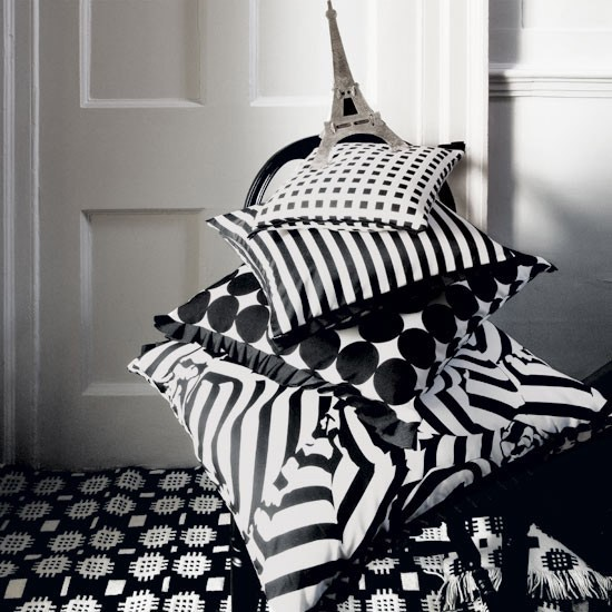 Parisian-style geometric cushions | Art Deco | decorating ideas | PHOTO GALLERY | Housetohome