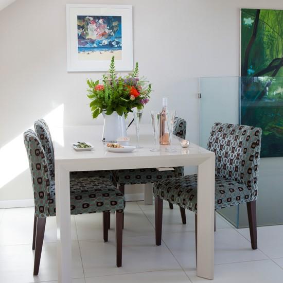 Compact mezzanine dining area   Dining room idea s   Homes & Gardens